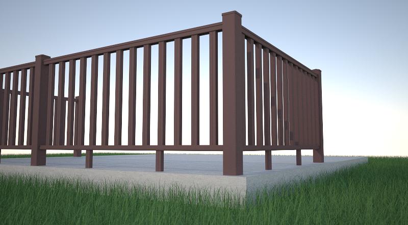 Masywnie Montaż balustrady WPC - Instrukcje montażu - Menu główne AZ56